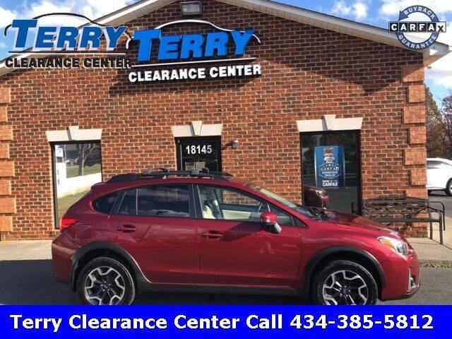 2017 Subaru Crosstrek for sale at Terry Clearance Center in Lynchburg VA
