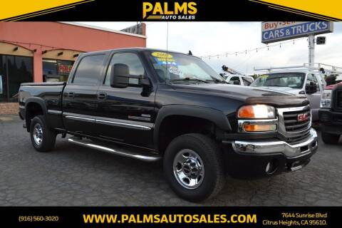 2007 GMC Sierra 2500HD Classic for sale at Palms Auto Sales in Citrus Heights CA