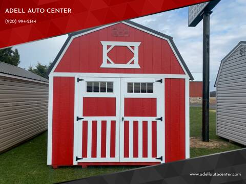 2020 DOUBLE H BUILDINGS 10X16 LOFTED BARN for sale at ADELL AUTO CENTER in Waldo WI