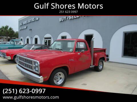 1979 Dodge Adventurer 150 for sale at Gulf Shores Motors in Gulf Shores AL