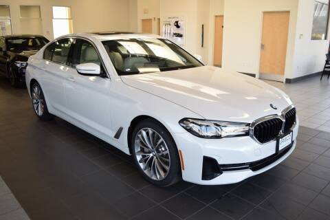 2021 BMW 5 Series for sale at BMW OF NEWPORT in Middletown RI