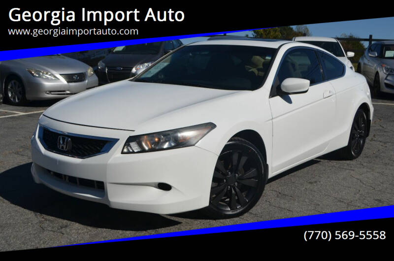 2010 Honda Accord for sale at Georgia Import Auto in Alpharetta GA