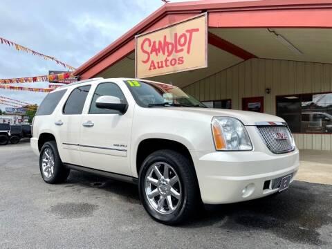 2013 GMC Yukon for sale at Sandlot Autos in Tyler TX