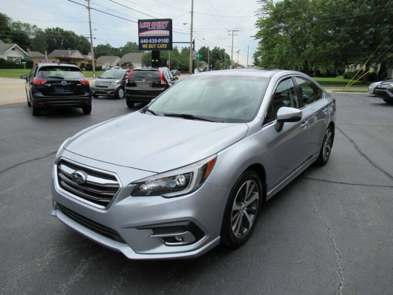2018 Subaru Legacy for sale at Lake County Auto Sales in Painesville OH