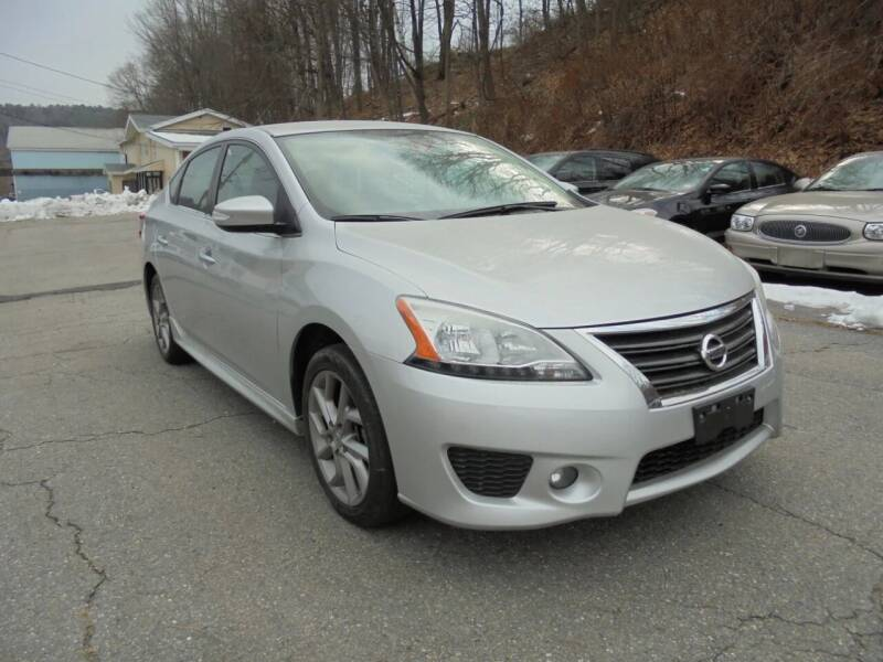 2015 Nissan Sentra for sale at Precision Valley Auto Sales in Springfield VT