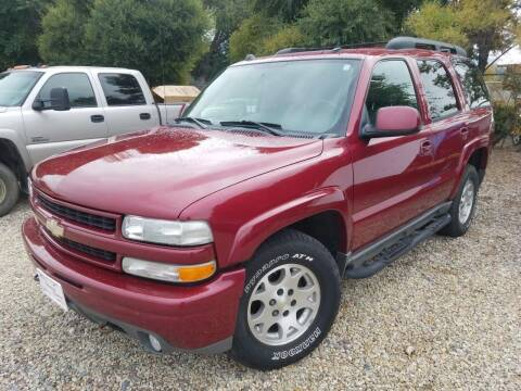 2004 Chevrolet Tahoe for sale at AUTO BROKER CENTER in Lolo MT