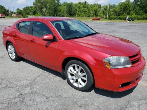 2012 Dodge Avenger for sale at 518 Auto Sales in Queensbury NY