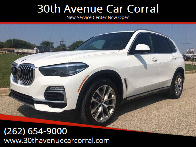 2019 BMW X5 for sale at 30th Avenue Car Corral in Kenosha WI