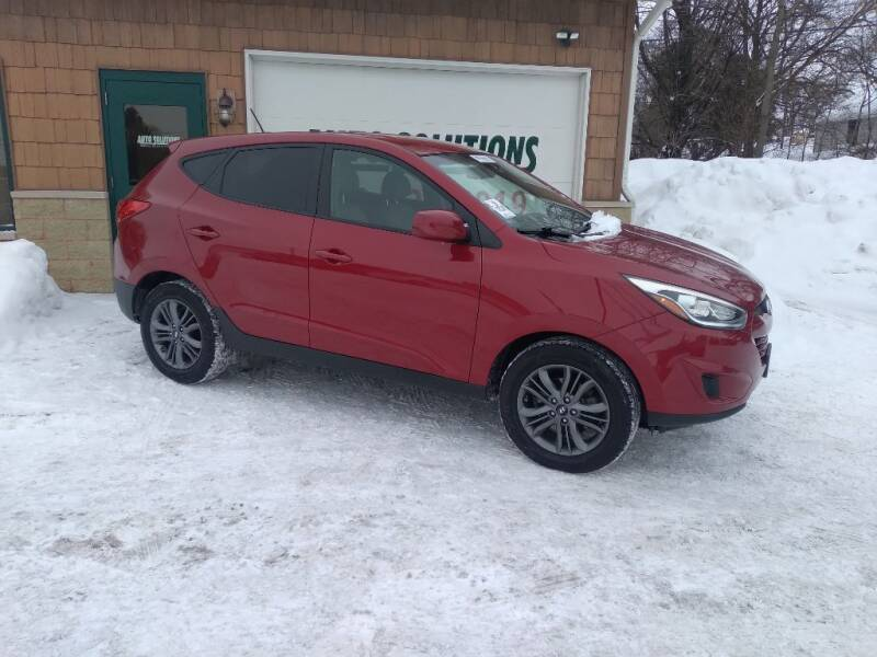 2015 Hyundai Tucson for sale at Auto Solutions of Rockford in Rockford IL