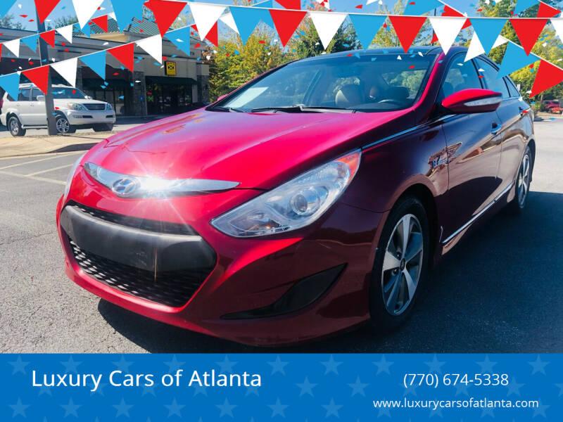 2012 Hyundai Sonata Hybrid for sale at Luxury Cars of Atlanta in Snellville GA