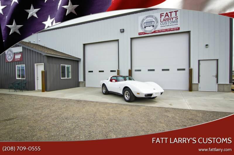 1978 Chevrolet Corvette for sale at Fatt Larry's Customs - Classics/Projects in Sugar City ID