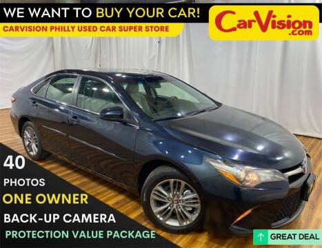 2017 Toyota Camry for sale at Car Vision Mitsubishi Norristown - Car Vision Philly Used Car SuperStore in Philadelphia PA