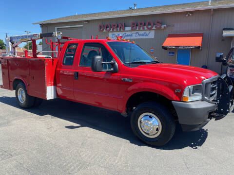 2002 Ford F-350 Super Duty for sale at Dorn Brothers Truck and Auto Sales in Salem OR