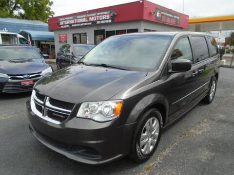 2016 Dodge Grand Caravan for sale at International Motors in Laurel MD