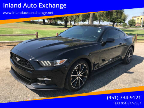 2015 Ford Mustang for sale at Inland Auto Exchange in Norco CA