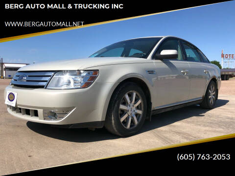2008 Ford Taurus for sale at BERG AUTO MALL & TRUCKING INC in Beresford SD