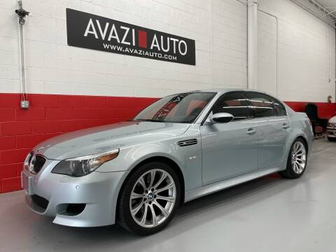 2007 BMW M5 for sale at AVAZI AUTO GROUP LLC in Gaithersburg MD