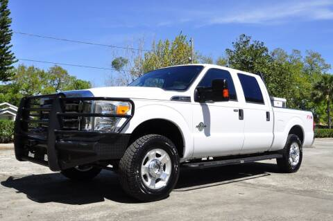 2014 Ford F-250 Super Duty for sale at Vision Motors, Inc. in Winter Garden FL