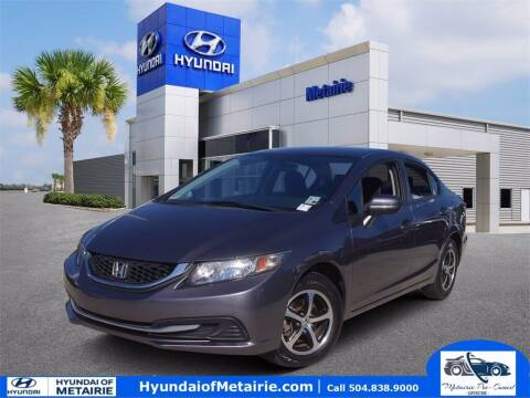 2015 Honda Civic for sale at Metairie Preowned Superstore in Metairie LA
