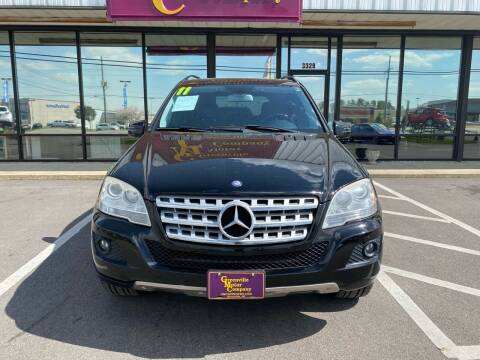 2011 Mercedes-Benz M-Class for sale at DRIVEhereNOW.com in Greenville NC