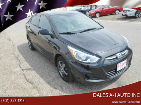2017 Hyundai Accent for sale at Dales A-1 Auto Inc in Jamestown ND