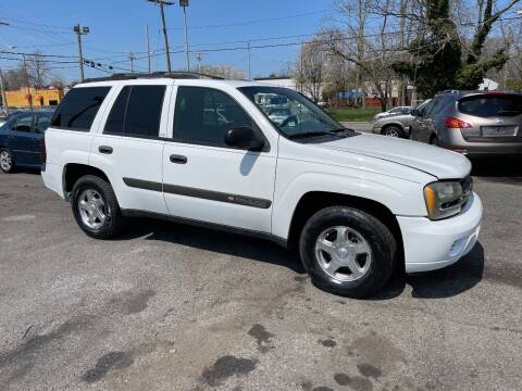 2004 Chevrolet TrailBlazer for sale at Affordable Auto Detailing & Sales in Neptune NJ