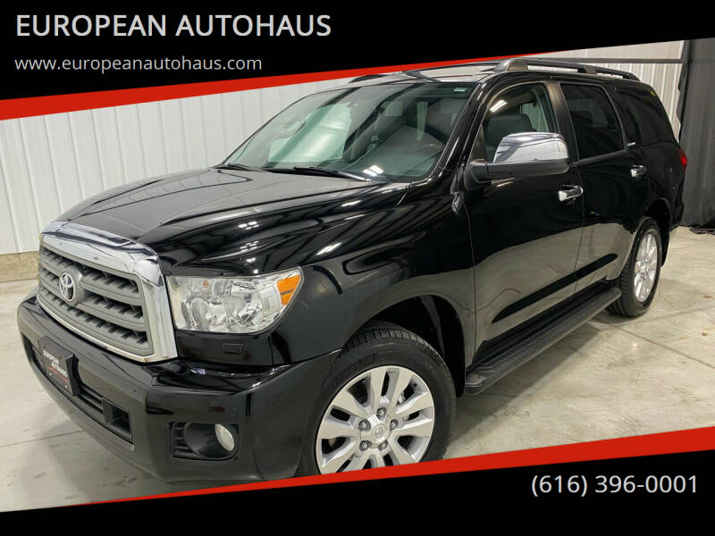 2011 Toyota Sequoia for sale at EUROPEAN AUTOHAUS in Holland MI