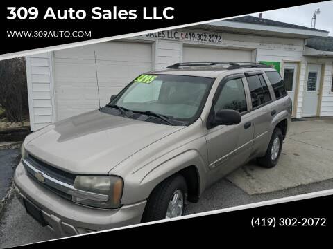2002 Chevrolet TrailBlazer for sale at 309 Auto Sales LLC in Harrod OH
