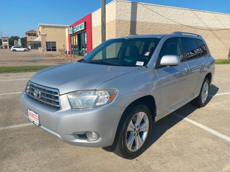 2010 Toyota Highlander for sale at Houston Auto Gallery in Katy TX