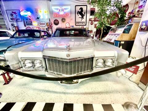 1970 Cadillac DeVille for sale at Berliner Classic Motorcars Inc in Dania Beach FL