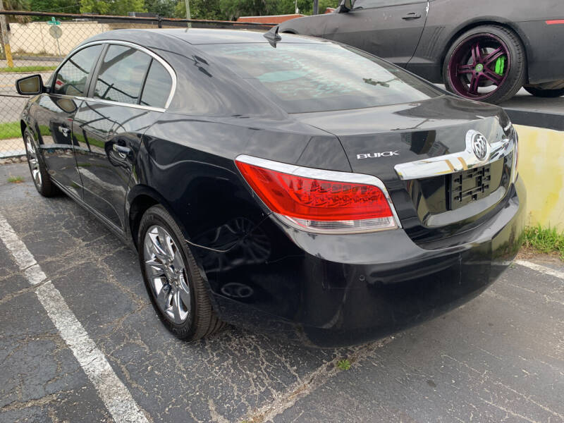 2011 Buick LaCrosse for sale at Castle Used Cars in Jacksonville FL