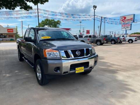 2013 Nissan Titan for sale at Russell Smith Auto in Fort Worth TX