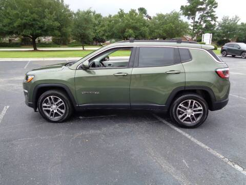 2018 Jeep Compass for sale at BALKCUM AUTO INC in Wilmington NC