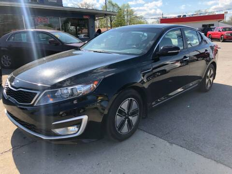 2012 Kia Optima Hybrid for sale at Wise Investments Auto Sales in Sellersburg IN