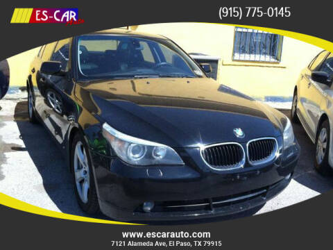 2004 BMW 5 Series for sale at Escar Auto in El Paso TX