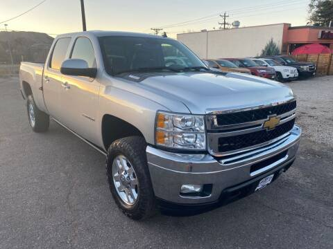 2012 Chevrolet Silverado 2500HD for sale at BERKENKOTTER MOTORS in Brighton CO