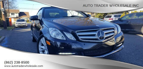 2012 Mercedes-Benz E-Class for sale at Auto Trader Wholesale Inc in Saddle Brook NJ