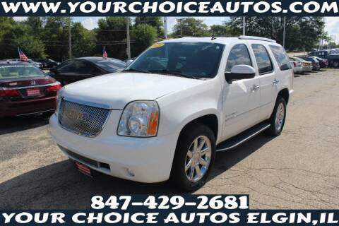 2009 GMC Yukon for sale at Your Choice Autos - Elgin in Elgin IL