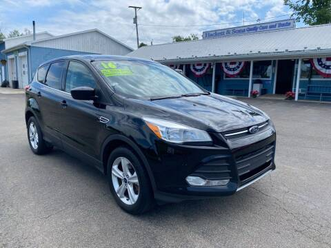 2016 Ford Escape for sale at HACKETT & SONS LLC in Nelson PA