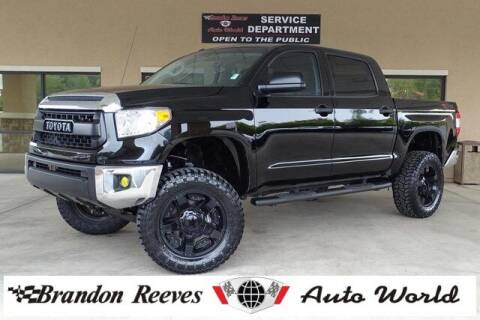 2015 Toyota Tundra for sale at Brandon Reeves Auto World in Monroe NC