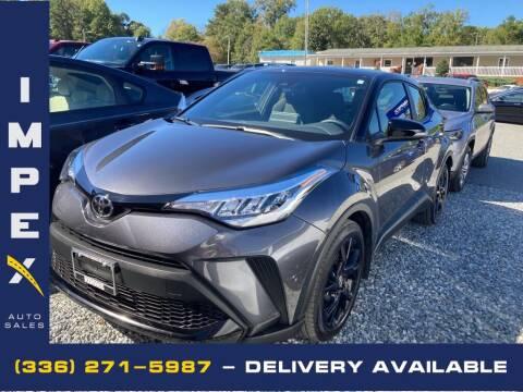 2021 Toyota C-HR for sale at Impex Auto Sales in Greensboro NC