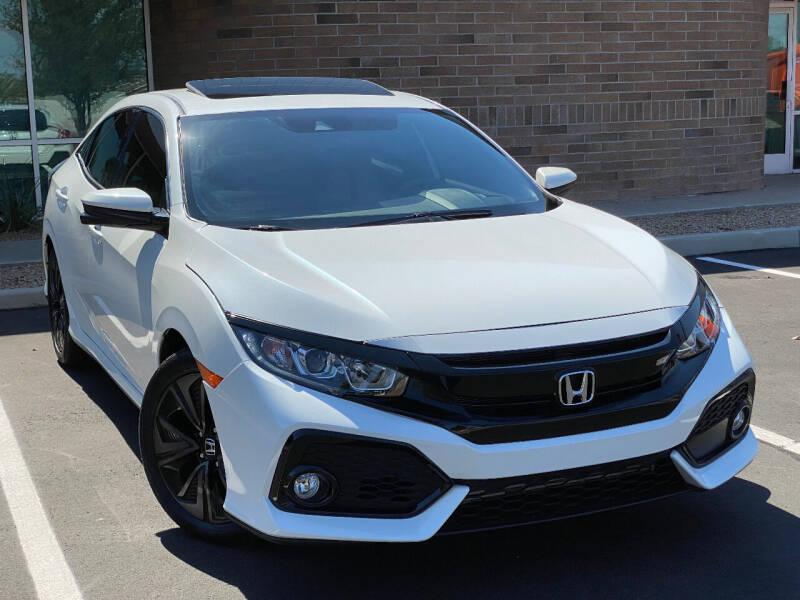2019 Honda Civic for sale at AKOI Motors in Tempe AZ