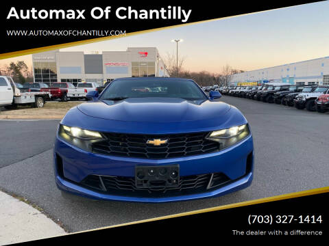 2020 Chevrolet Camaro for sale at Automax of Chantilly in Chantilly VA