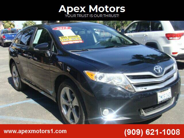 2015 Toyota Venza for sale at Apex Motors in Montclair CA