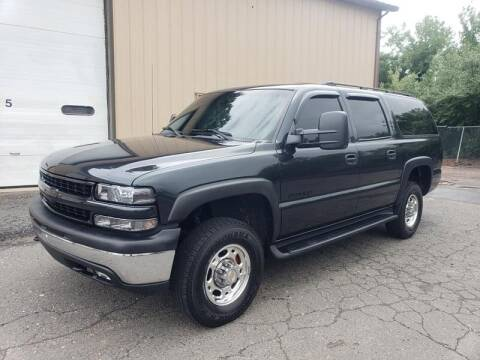 2003 Chevrolet Suburban for sale at Massirio Enterprises in Middletown CT