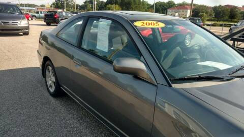 2005 Honda Civic for sale at Kelly & Kelly Supermarket of Cars in Fayetteville NC
