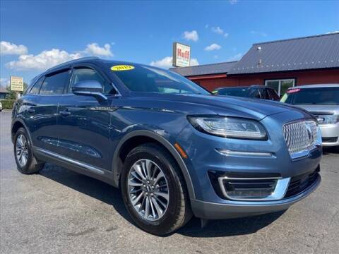2019 Lincoln Nautilus for sale at HUFF AUTO GROUP in Jackson MI