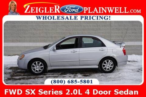2006 Kia Spectra for sale at Zeigler Ford of Plainwell- Jeff Bishop in Plainwell MI
