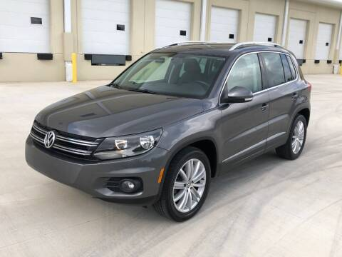 2012 Volkswagen Tiguan for sale at EUROPEAN AUTO ALLIANCE LLC in Coral Springs FL