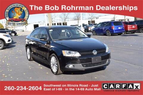 2014 Volkswagen Jetta for sale at BOB ROHRMAN FORT WAYNE TOYOTA in Fort Wayne IN